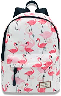back to school flamingo