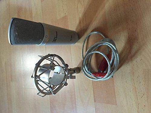 Thomann T. Bone SC440Condenser Micrófono de Estudio USB