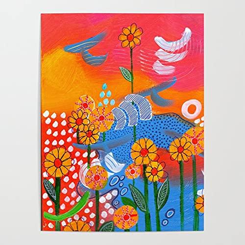 Beaxqb Pintura por números Saltar de alegría Kits de Regalo de Pintura al óleo para para decoración del hogar 40X50cmSin Marco