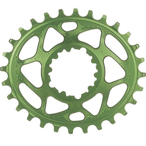 absoluteBLACK Ovales Kettenblatt für SRAM XX1 Spiderless Froggy Green Ausführung 28T 2020 Kettenblätter