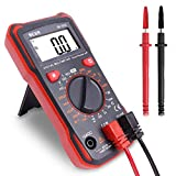 BEVA Digital Multimeter Continuity Tester Voltmeter AC/DC Multi Tester Voltage/Current/Resistance / 2 Year