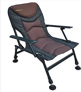 MK-Angelsport 5 Seasons Pro maximal belastning 150 kg premium bekväm och lätt karpstol