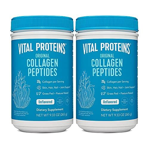 Vital Proteins, Péptidos de colágeno criados en pasto, alimentados con hierbas, 1