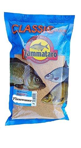 Zammataro Grundfutter Classic Range Fliesswasser 1Kg Lockmittel