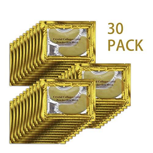 Locisne Crystal Collagen Gold Eye Powder Máscaras - Anti En