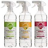 Aceto di Alcool Spray 750 ml x 3 pz Classico Limone Melograno Splendiaceto