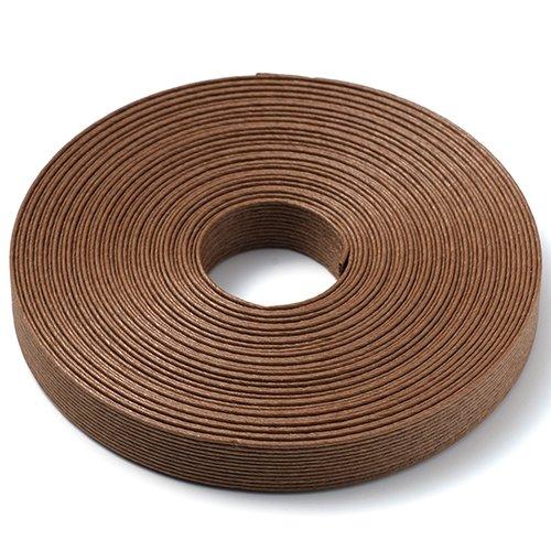 手芸用 エコ クラフトテープ 栗の木 10m巻 幅15mm 12芯 紙 バンド テープ 日本製