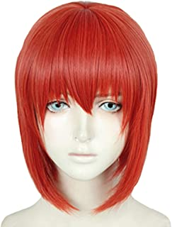 Chise Hatori Wig Cosplay Ancient Magus Bride Costume Anime Short Red Hair Accessories Props