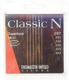 Thomastik Cuerdas para Guitarra Clásica Classic N Series juego Superlona Light CR127 entorchado redondo