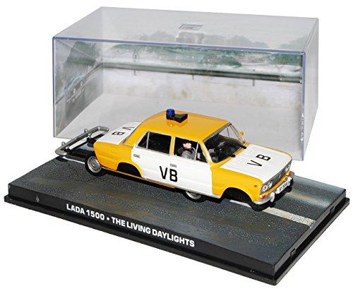 Ixo Lada 1500 VB Polizei Der Hauch des Todes James Bond 007 1/43 Modell Auto
