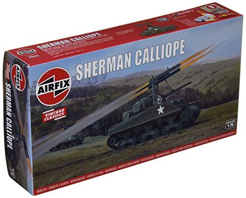 Airfix A02334V 1/76 Sherman Calliope Modellbausatz, Sortiert, 1: 76 Scale