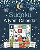 Sudoku Advent Calendar: Logic Puzzle Book with 200 Sudoku from Easy to Hard | Advent and Christmas Gift Ideas for Teens, Adults, and Seniors