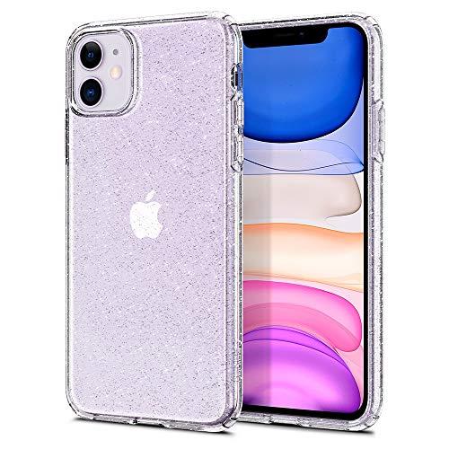 Spigen Cover iPhone 11 Liquid Crystal Glitter Progettato per iPhone 11 Cover Custodia - Crystal Quartz