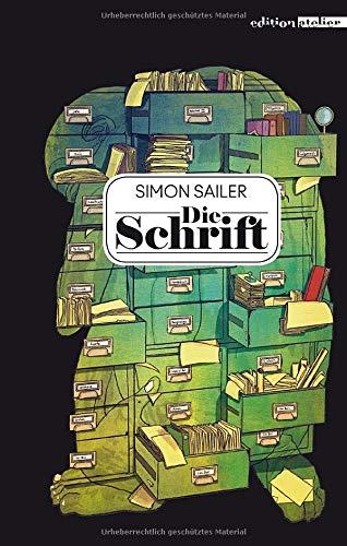 Buchseite und Rezensionen zu 'Die Schrift' von Simon Sailer