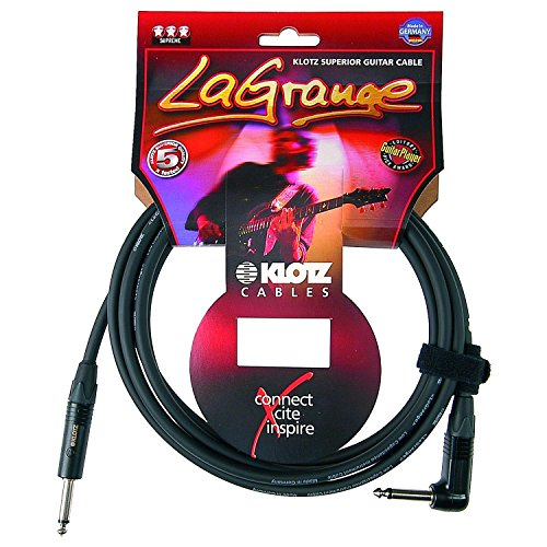 Klotz La Grange Gitarrenkabel 3,0 WK - 3,0 Meter - Klinke/Winkel