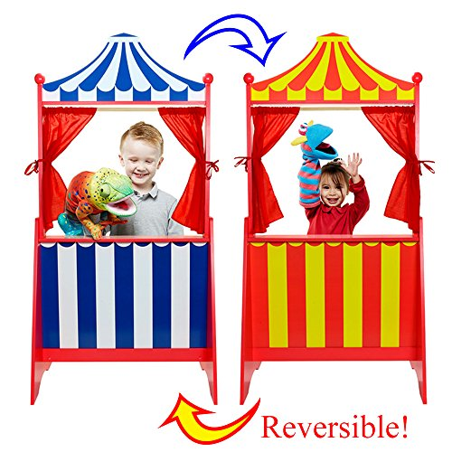 The Puppet Company Teatro de Marionetas Reversible de pie (PC009003)
