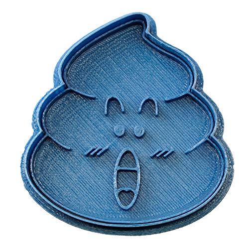 Cuticuter Doctor Slump Caca De Arale Cortador de Galletas, Azul, 8x7x1.5 cm