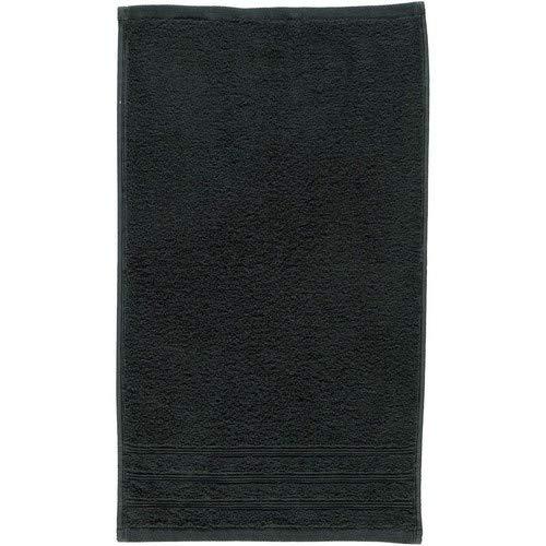 Kleine Wolke 3003926201 Royal Serviette Invité Coton Noir 30 x 50 cm