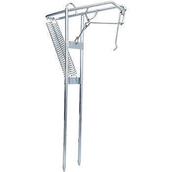 TIREOW Angelrutenhalter Rutenhalter Angelrute Halfter Ruten St/änder Rutenablage Halterung aus Edelstahl mit Automatischer Kippfeder zum Angeln