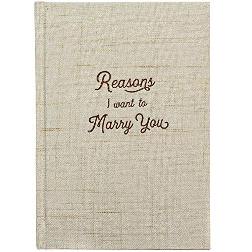 Reasons I Want to Marry You Wedding Gift Notebook - Write Love Letters To...
