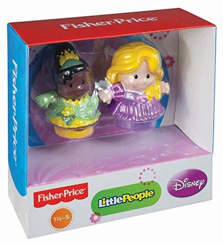 Little People Disney Spiel- und Sammelfiguren X6028 - Rapunzel und Tiana