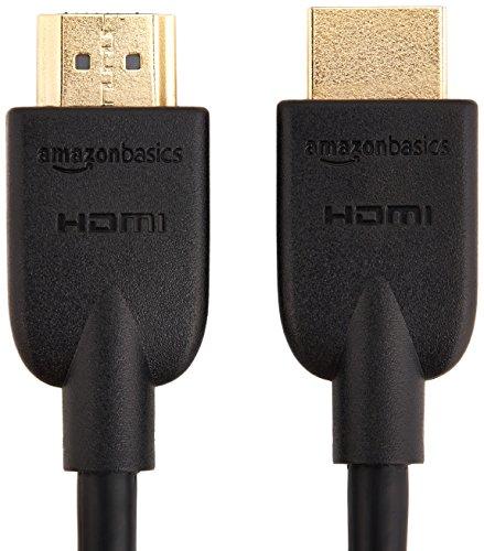 Sony HT-S350 2.1. Kanal Soundbar schwarz & Amazon Basics – Hochgeschwindigkeitskabel, Ultra HD HDMI 2.0, unterstützt 3D-Formate, mit Audio Return Channel, 1,8 m