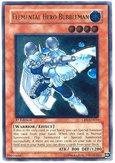 Yu-Gi-Oh! - Elemental Hero Bubbleman (CRV-EN014) - Cybernetic Revolution - 1st Edition - Ultimate Rare
