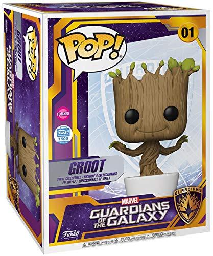 Funko 51285 Pop! Marvel: Guardianes de la Galaxia - Dancing Groot (Edición Limitada Exclusiva 18')...