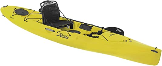 2018 Hobie Quest 13 Sit On Top Paddle Fishing Kayak Seagrass Green