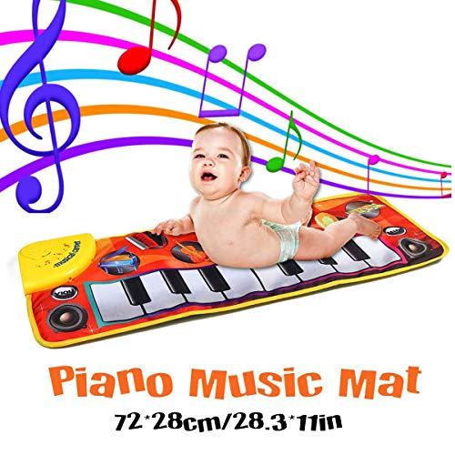 Piano Playmat, Keyboard Musical Carpet Veiligheid: Spel Leren Zingen Funny Toy