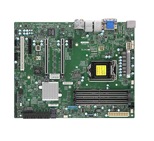 Supermicro Mainboard MBD-X11SCA-F-O Core i3 S1151 C246 bis zu 64 GB PCIe SATA ATX Retail