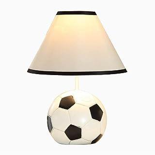 Lampes de Bureau Chambre d'enfants Cartoon Football Lampe de Table LED Chambre Lampe de Chevet Creative Boy Girl Lampe de ...