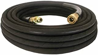 """Pressure Washer Hose 3/8"""" x 50` 4000 psi with Quick Connects - Industrial"""