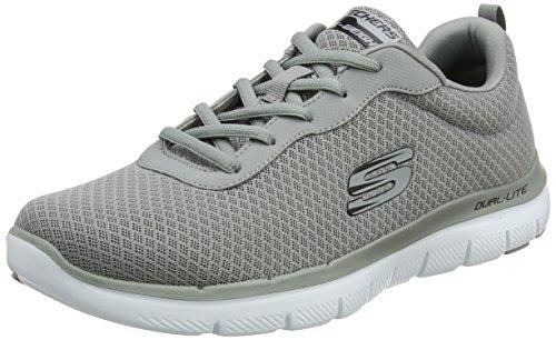 Skechers Herren 52125 Trainers, Grey (Grey), 45 EU