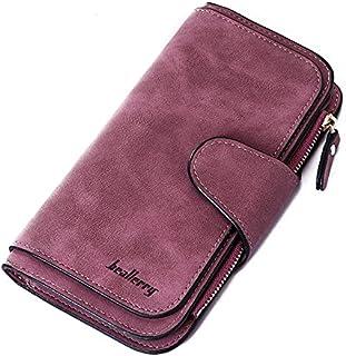 محفظة حريمي لون بنفسجي من باليري