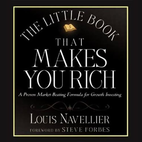 The Little Book That Makes You Rich audiobook cover art