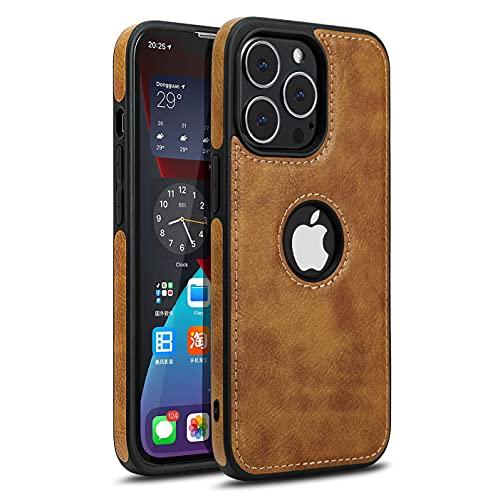 Razstorm Unique Design Luxury Leather Business Phone Case for iPhone 13 Pro Max Anti-Slip Scratch Resistant Ultra Slim Protective Case...