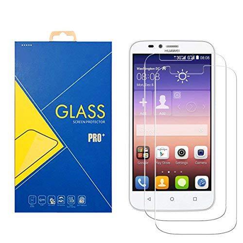 [2 Pack] Panzerglas Schutzfolie Huawei Ascend Y625 / 625 - Gehärtetem Glas Schutzfolie Bildschirmschutzfolie für Huawei Ascend Y625 / 625