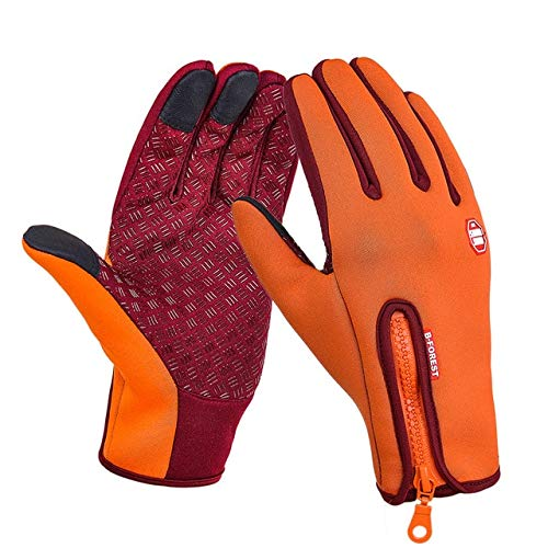 Unisex Touchscreen Winter Thermal Warm Cycling Bicycle Bike Ski Outdoor Camping Hiking Motorcycle Gloves Sports Full Finger-a8-XL