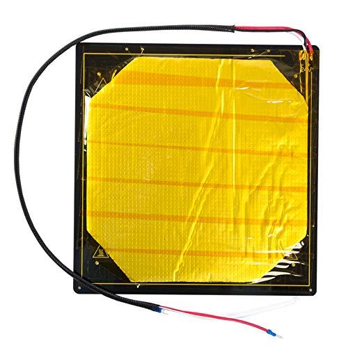 Aibecy Stampante 3D Riscaldata Letto Focolaio Piattaforma Riscaldamento Piastra in Alluminio con Focolaio Filo Isolamento Cotone Compatibile con CR-10S Pro/CR-X Stampante 3D