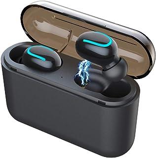 Wireless Earbuds, Bluetooth 5.0 Earphones True Wireless In-Ear Headphones TWS Bluetooth Headset 4H Playtime HD Hi-Fi Stere...