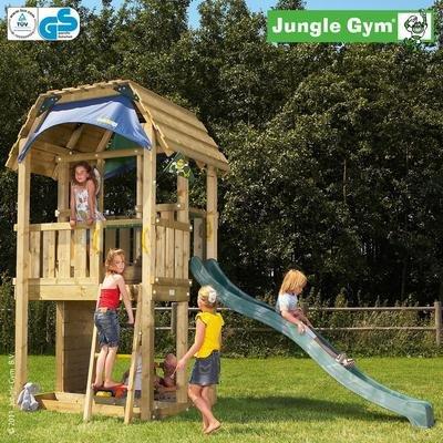 Jungle Gym Spielturm BARN ohne Rutsche