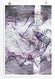 Der Vorleser - modernes abstraktes Bild Sinus Art - Bilder,
