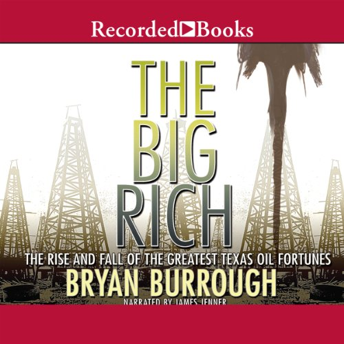 The Big Rich audiobook cover art