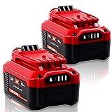 【Upgrade】CaliHutt 2 Pack 6.0Ah 20V Replacement Battery for V20 Craftsman 20V Battery MAX CMCB204 CMCB202 CMCB201 CMCD700C1 CMCS500B (All of V20 Cordless Tool Series) High Capacity