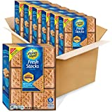 Six boxes with 6 stacks each, 36 total stacks, of Honey Maid Fresh Stacks Graham Crackers Made with real honey for delicious flavor Square shaped graham snacks are easy to hold and fun to eat Enjoy as an afternoon snack or stack with marshmallows and...