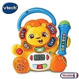 VTech - Jungle Rock - Karaoké Lion  - micro pour enfant - chansons et musique pour enfant (80-517705)