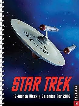 Star Trek 2018-2019 16-Month Engagement Calendar