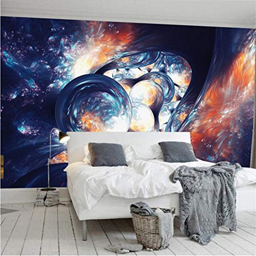 Wuyii Personaliseerbaar 3D Photo Wallpaper Europeo Modern Art Astratta Room Universo Home Decor muur verf Plafond muurschildering 350 x 250 cm