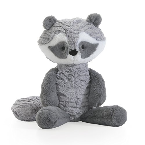 Lambs & Ivy Little Woodland Plush Raccoon Stuffed Animal 11u0022 Suki